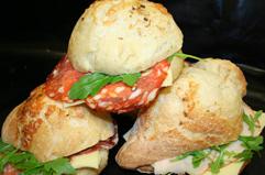 Frisksmurt sandwich fra Caseus Roskilde, friskbagt sandwich